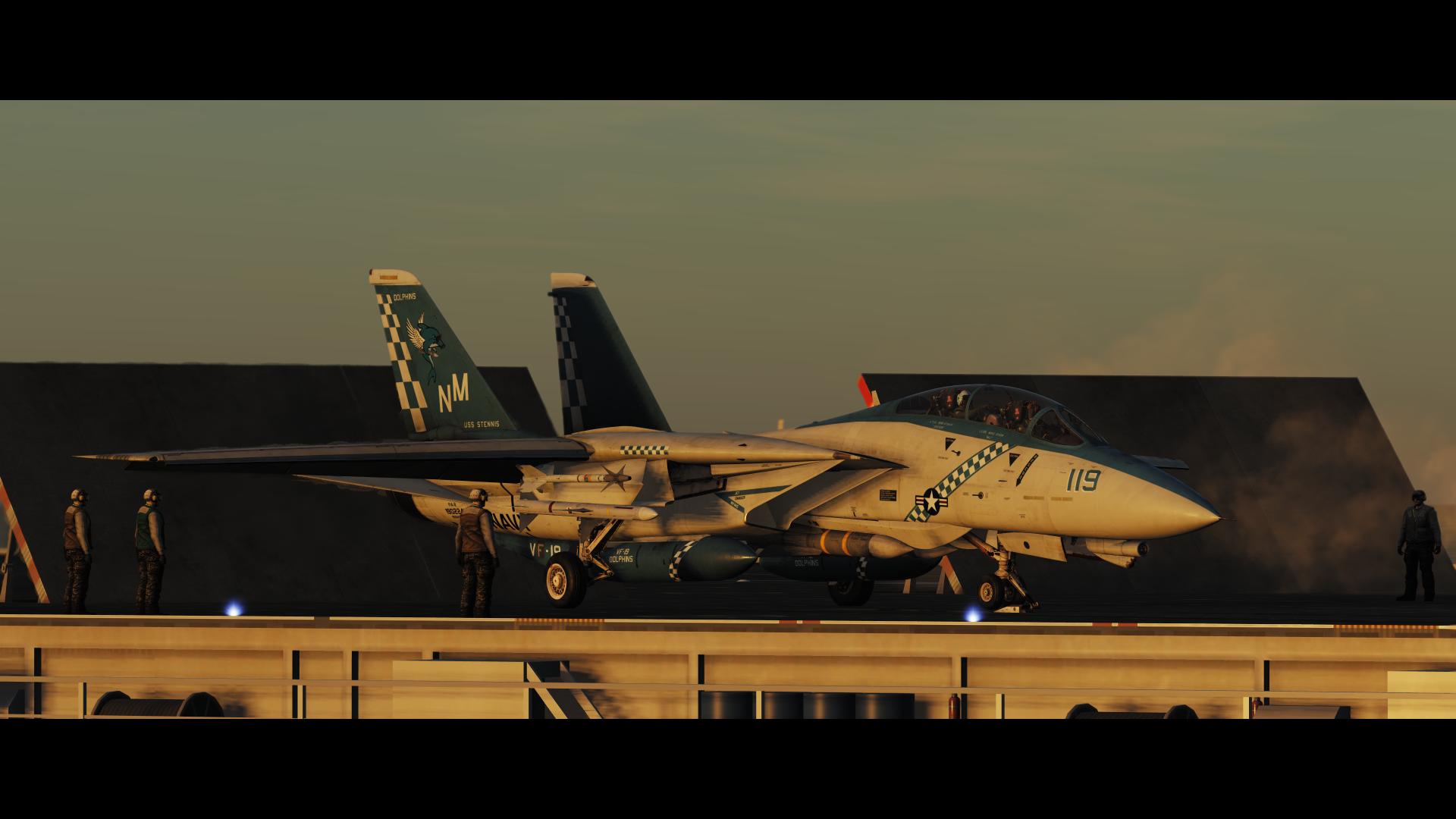 DCS: F-14 Tomcat Launch_4