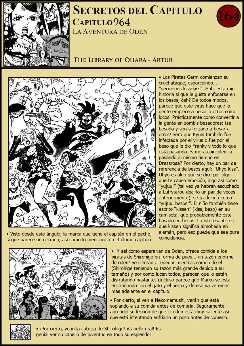 Secretos & Curiosidades - One Piece Manga 964 01