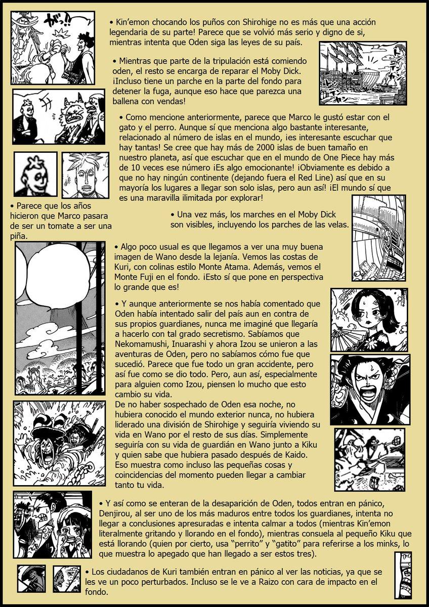 Secretos & Curiosidades - One Piece Manga 964 02