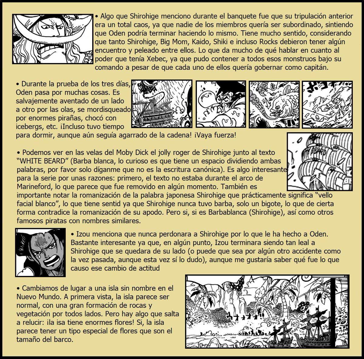 Secretos & Curiosidades - One Piece Manga 964 03