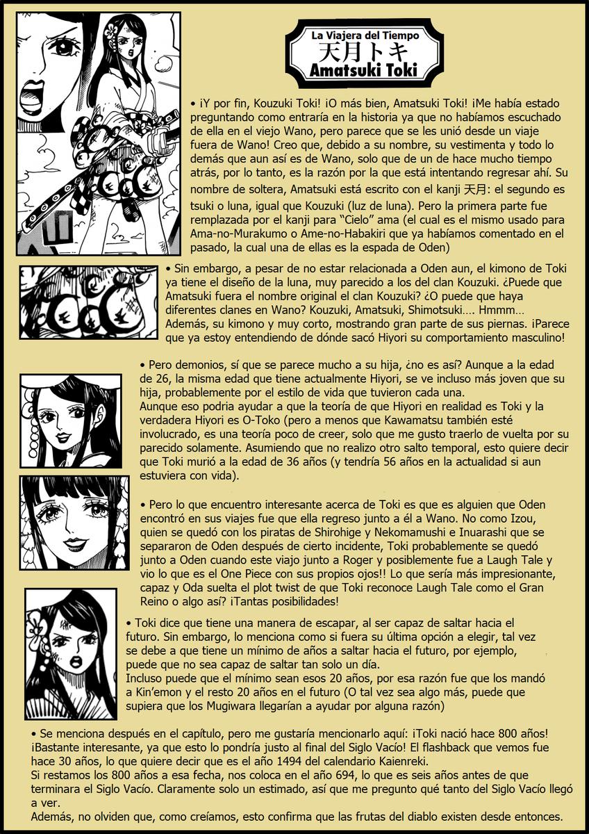 Secretos & Curiosidades - One Piece Manga 964 04