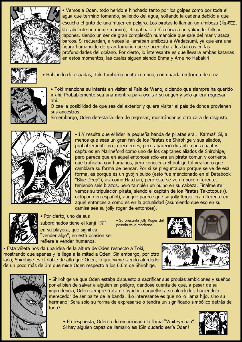 Secretos & Curiosidades - One Piece Manga 964 05