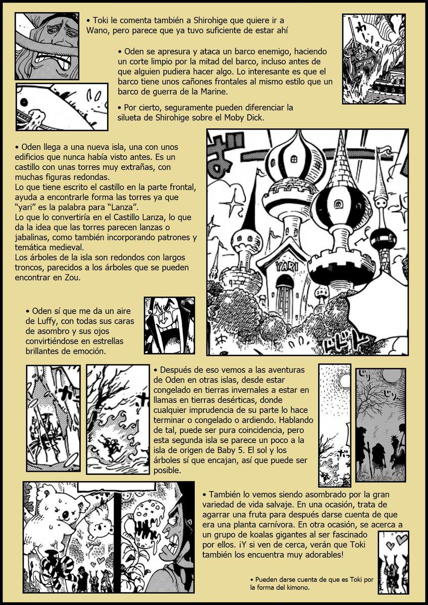 Secretos & Curiosidades - One Piece Manga 964 06