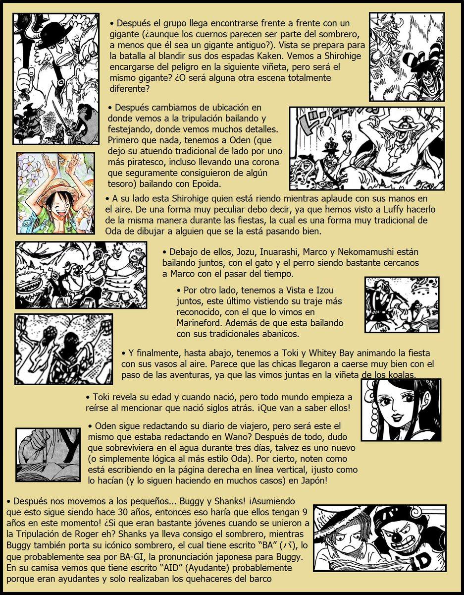 Secretos & Curiosidades - One Piece Manga 964 07