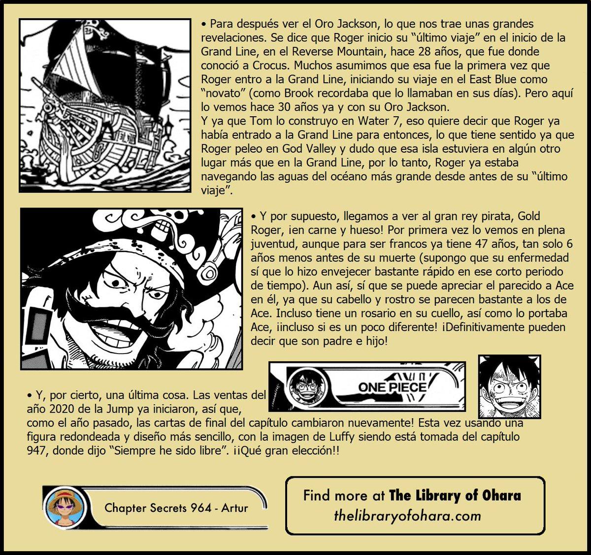 Secretos & Curiosidades - One Piece Manga 964 08