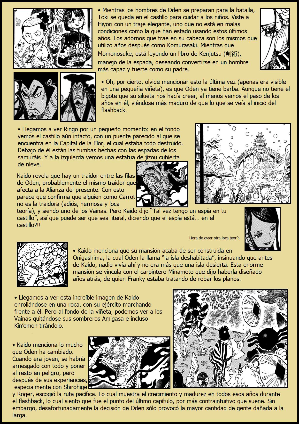 Secretos & Curiosidades - One Piece Manga 970 02