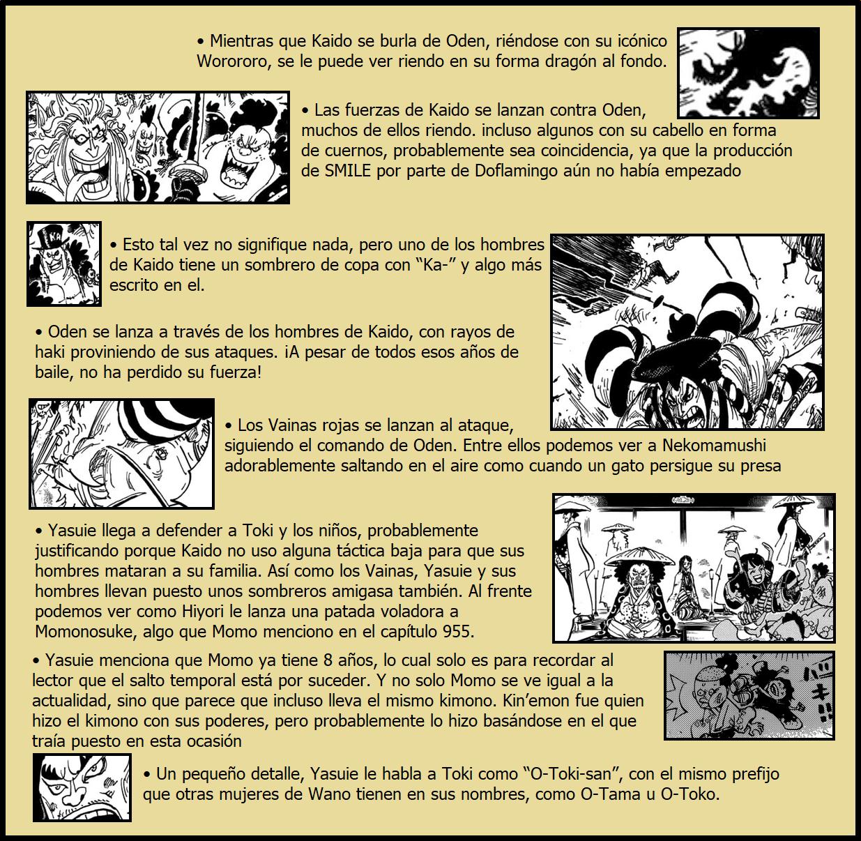 Secretos & Curiosidades - One Piece Manga 970 03