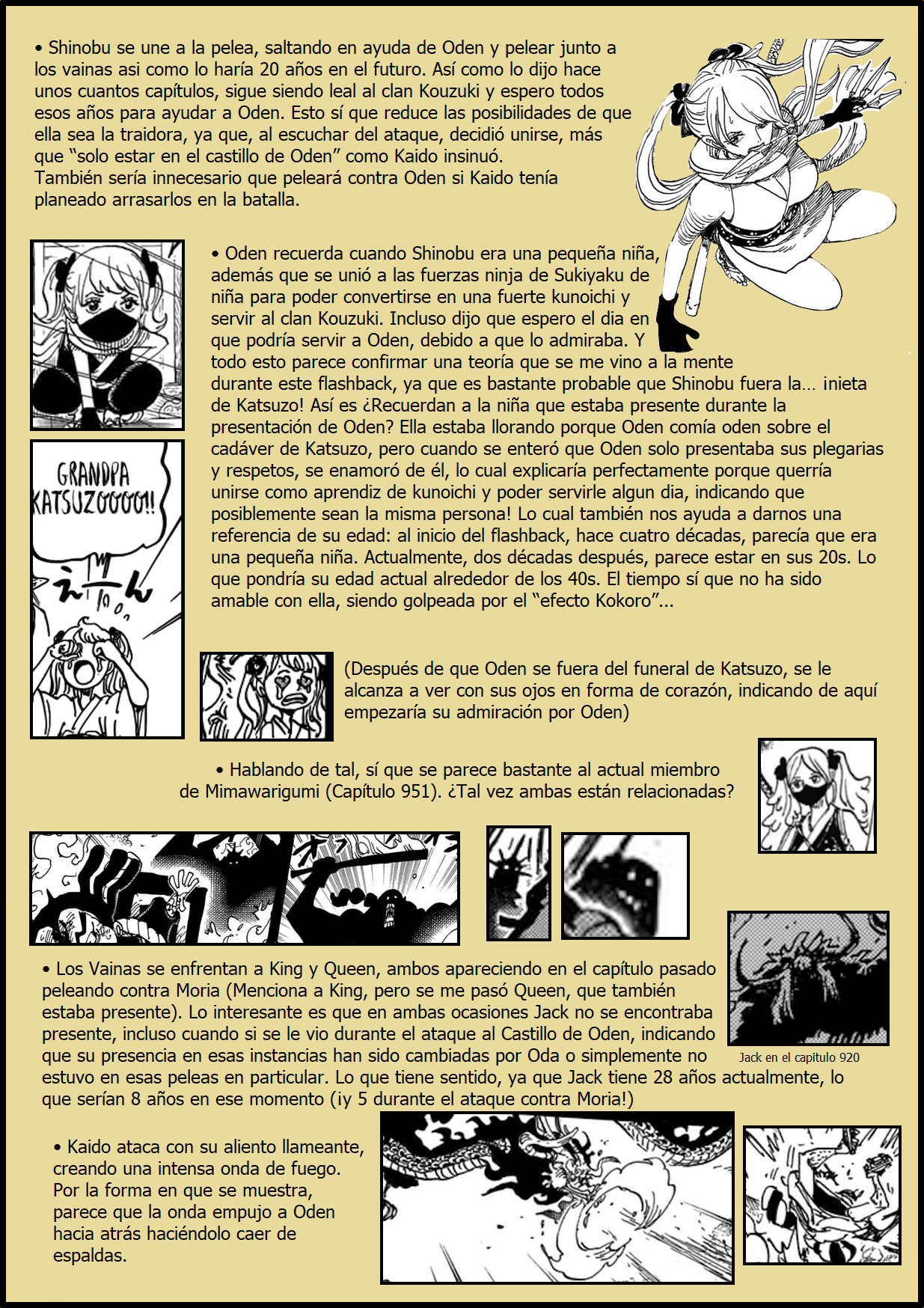 Secretos & Curiosidades - One Piece Manga 970 04