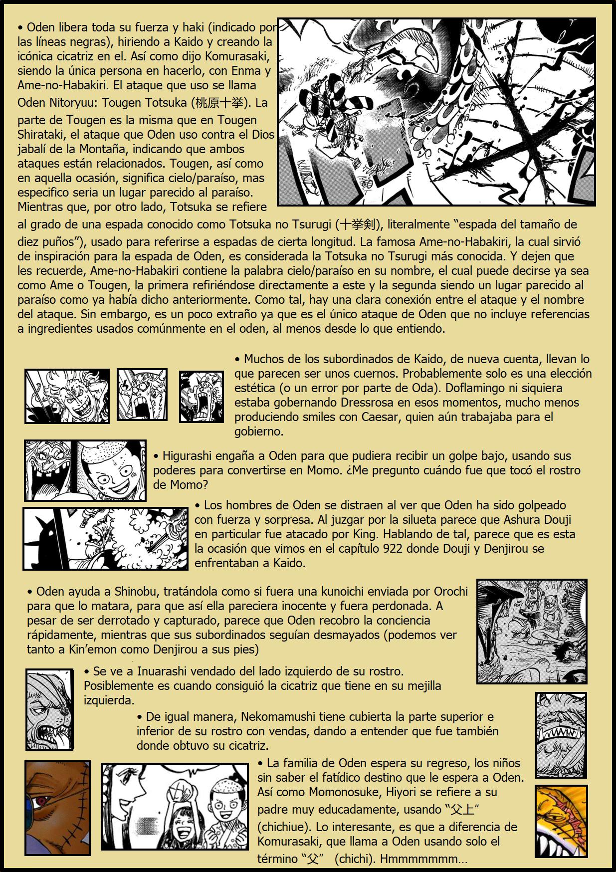 Secretos & Curiosidades - One Piece Manga 970 05