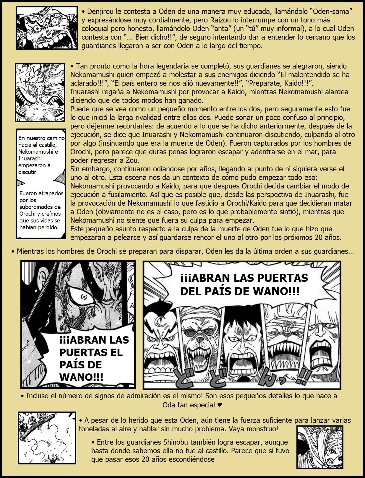 Secretos & Curiosidades - One Piece Manga 972 04