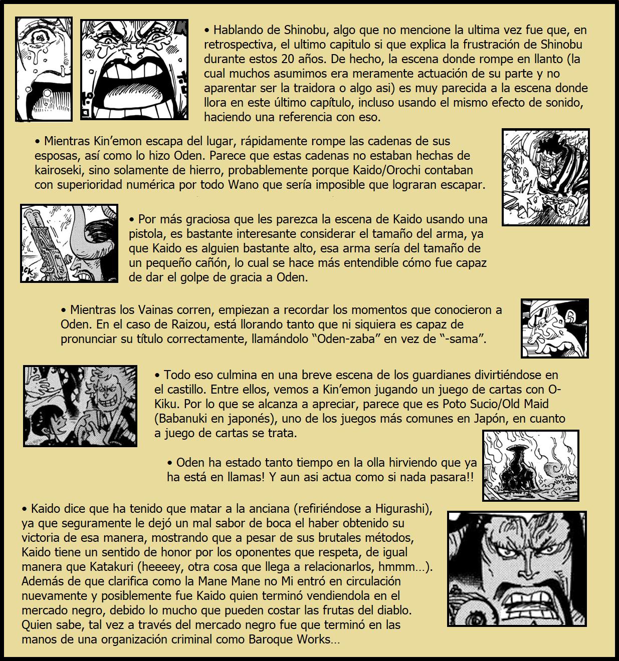 Secretos & Curiosidades - One Piece Manga 972 05