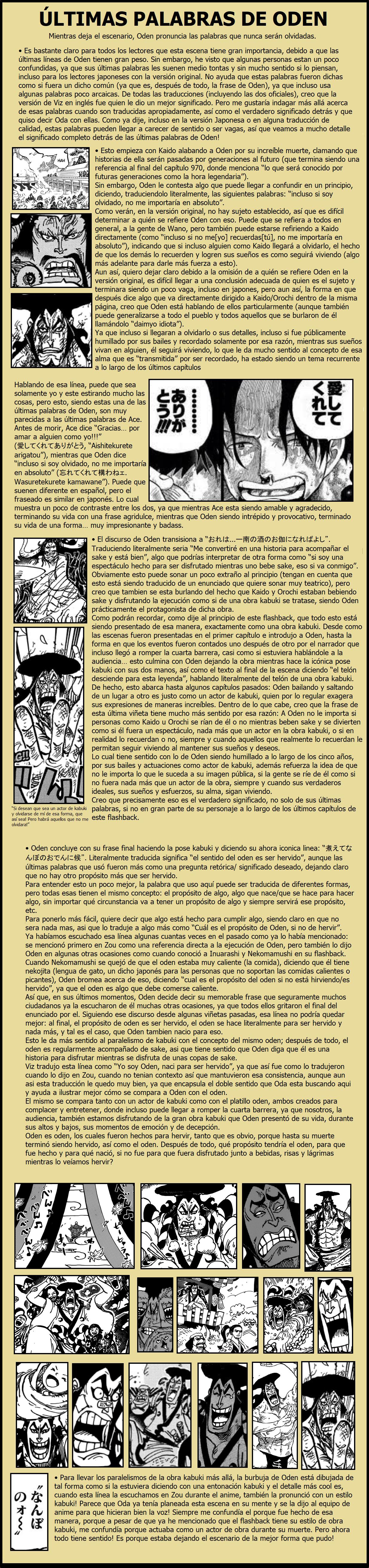 Secretos & Curiosidades - One Piece Manga 972 06