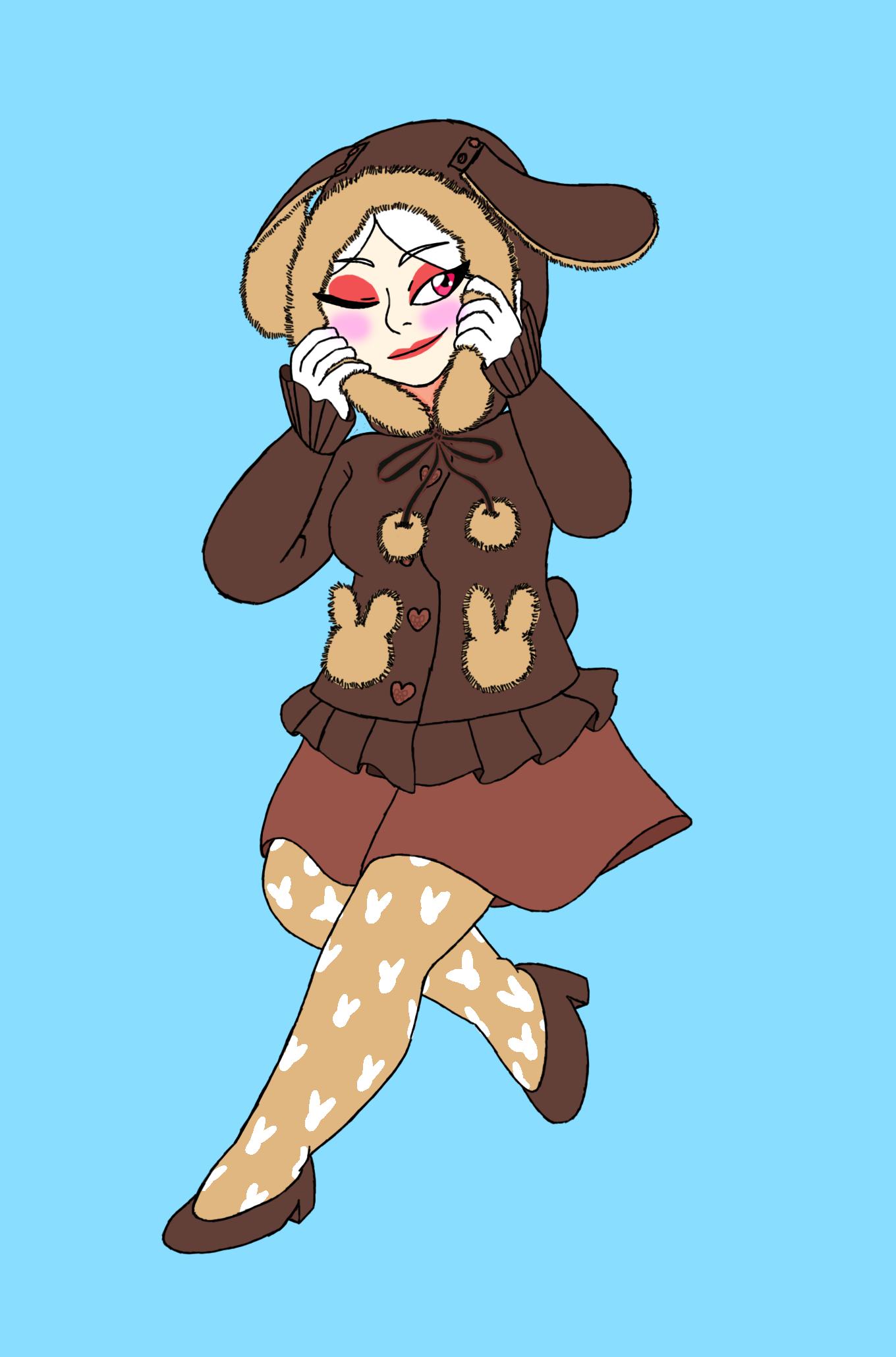 [Image: Caroline_bunny-coat.png]