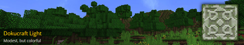 [32x] [Bedrock] [Official] Dokucraft, The Saga Continues Minecraft Texture Pack