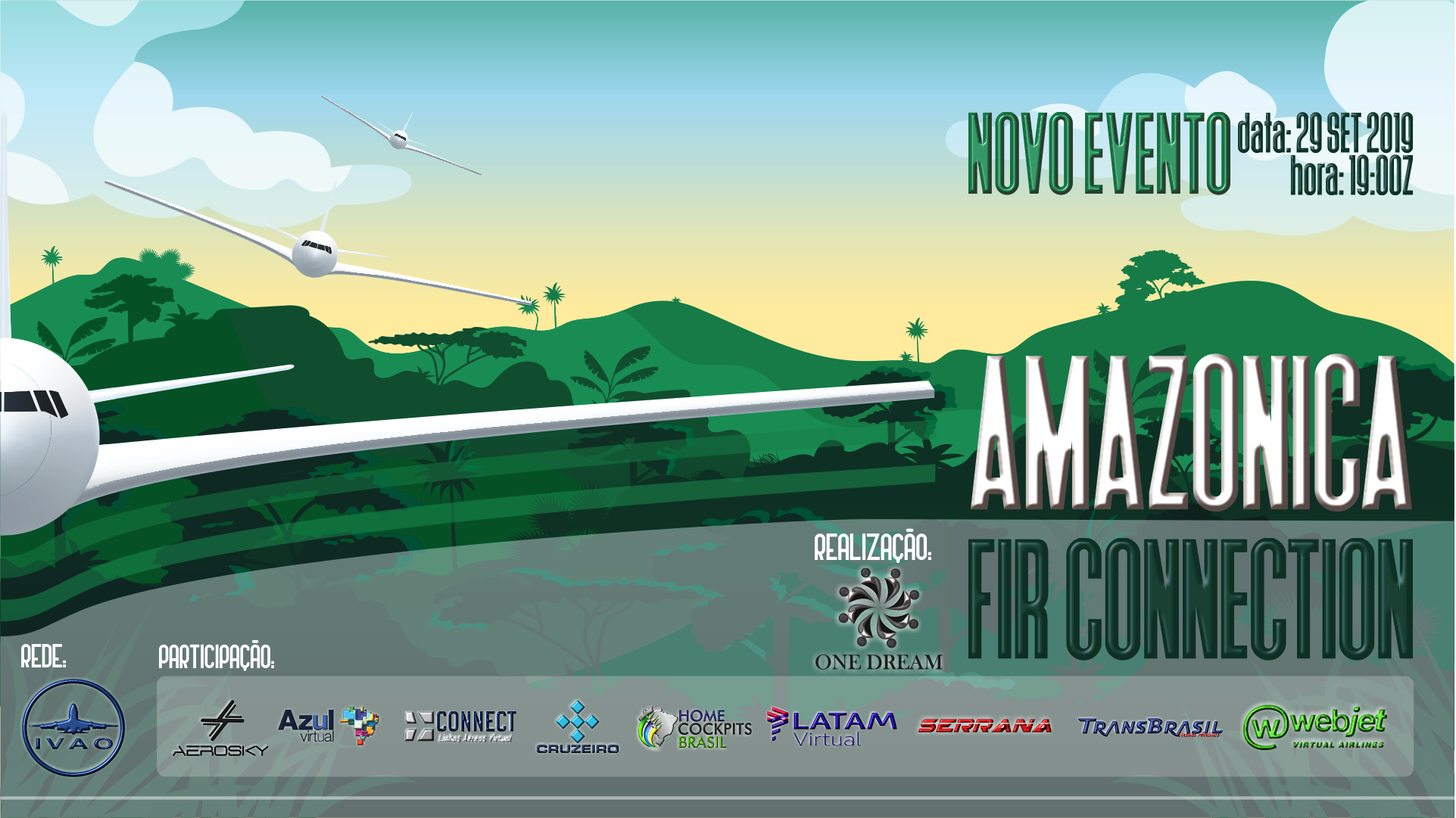 Novo Evento da One Dream Group Fir_Amazonica_Rede_IVAO