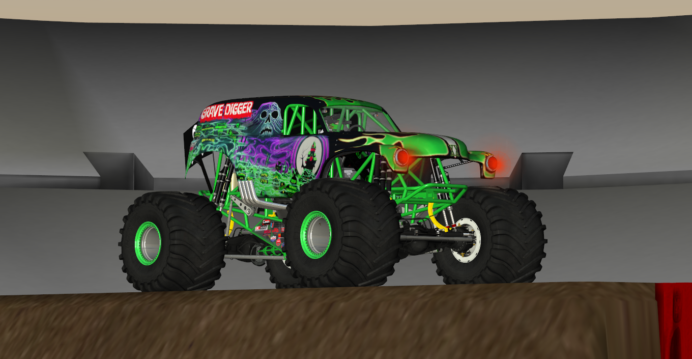 Grave Digger XX pack
