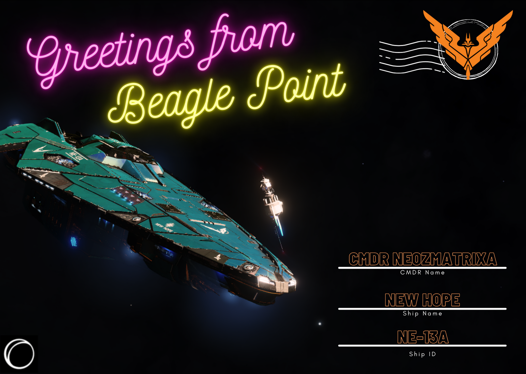 Greetings from Beagle Point