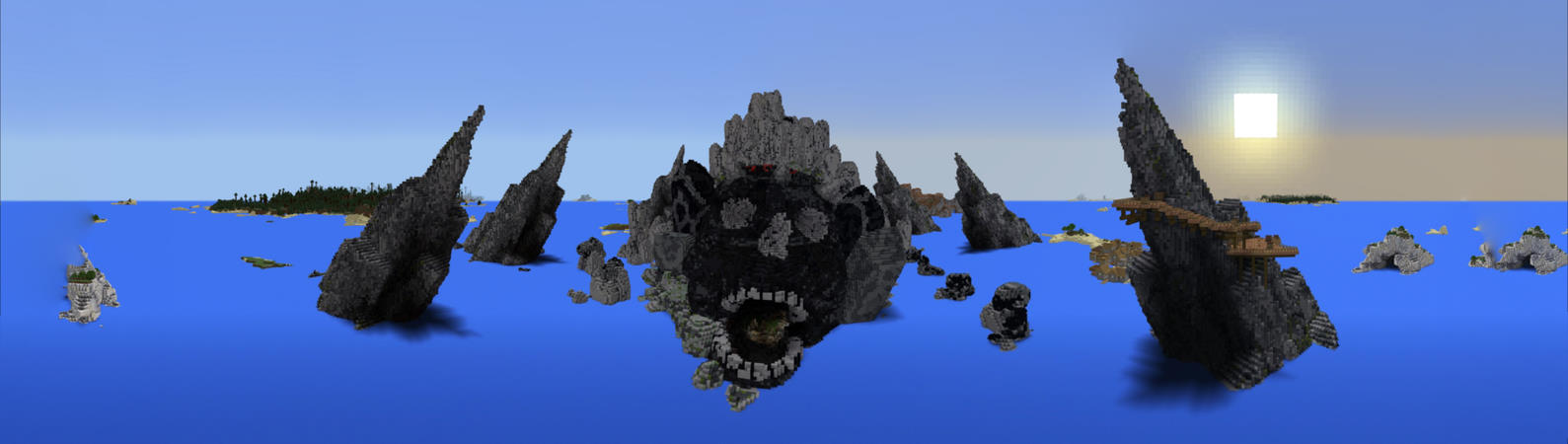SKULL ISLAND - An epic pirate adventure Minecraft Map