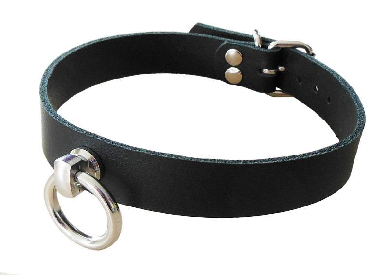 BDSM-Fetisch-Leder-Halsband-Halsschmuck-