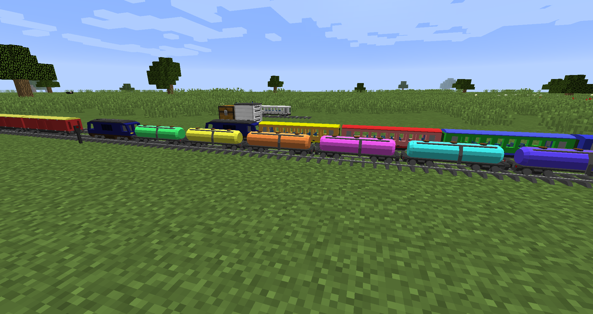 Pack5PXT - Small Trains Pack - for FVTM Minecraft Mod