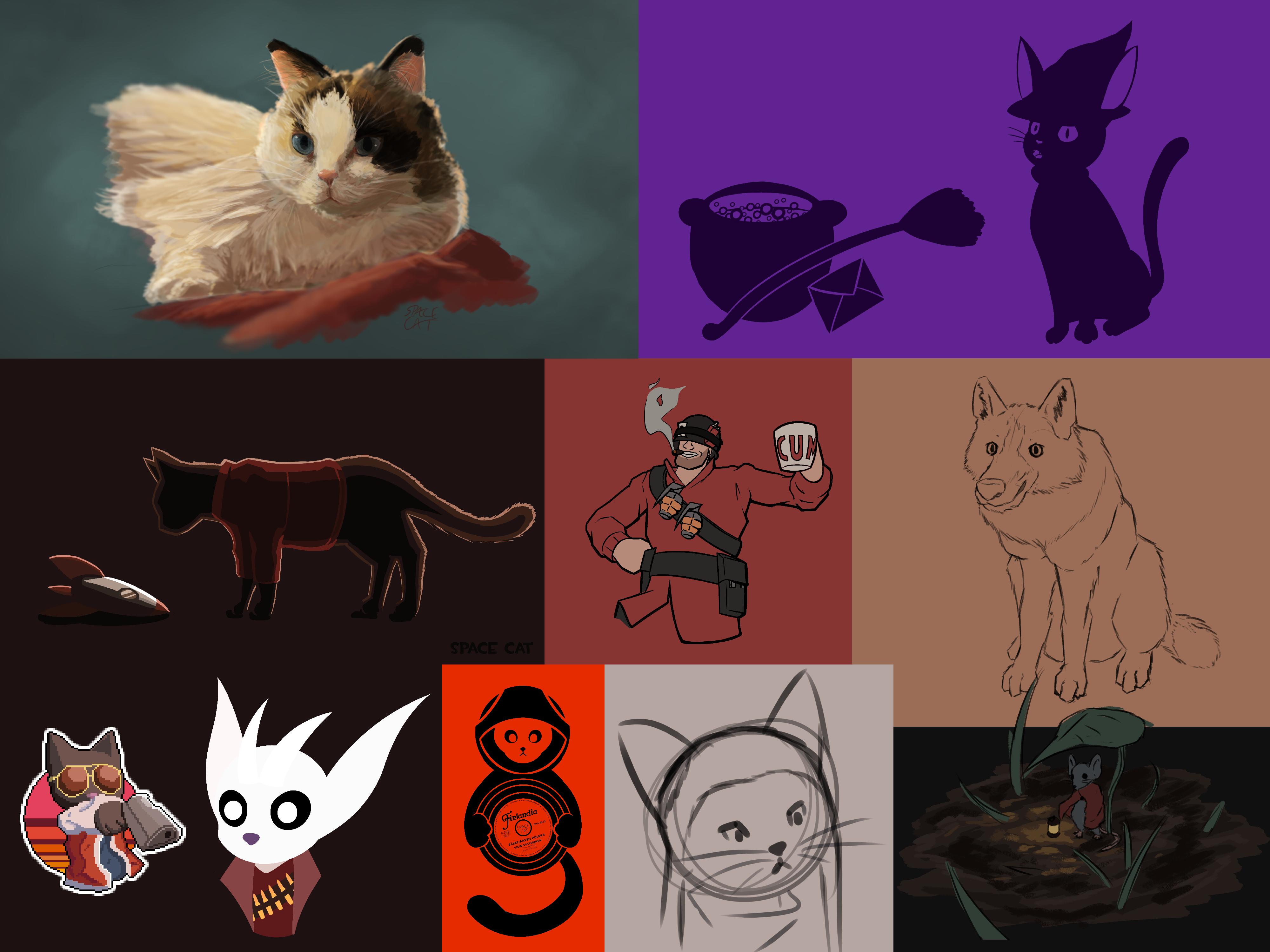 [Portfolio]: Cat in a spacesuit#2738