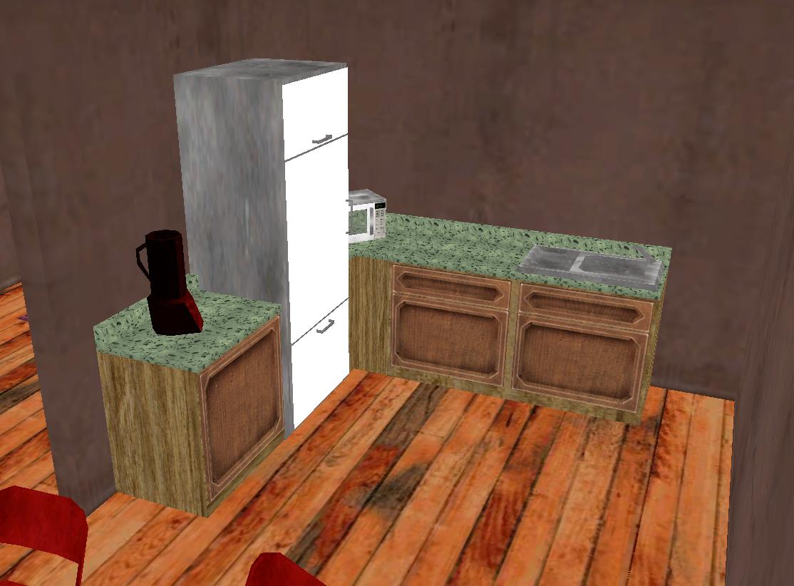 (VENTE-PLAN) Appartement 4 pièces + couloir. Cuisine