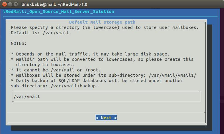 iredmail 1 | Organización FxZ | Instalar tu propio sistema de correos - IRedMail Ubuntu 18.04