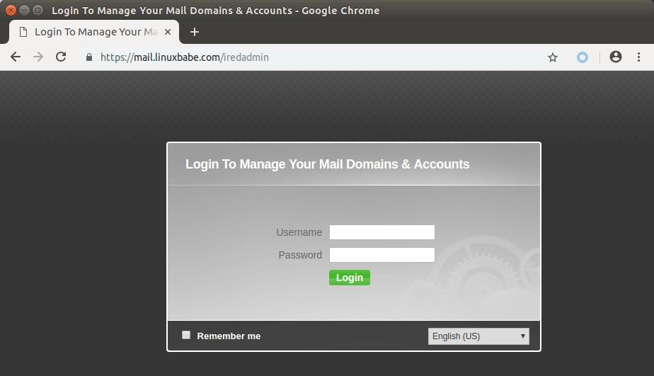 iredadmin | Organización FxZ | Instalar tu propio sistema de correos - IRedMail Ubuntu 18.04