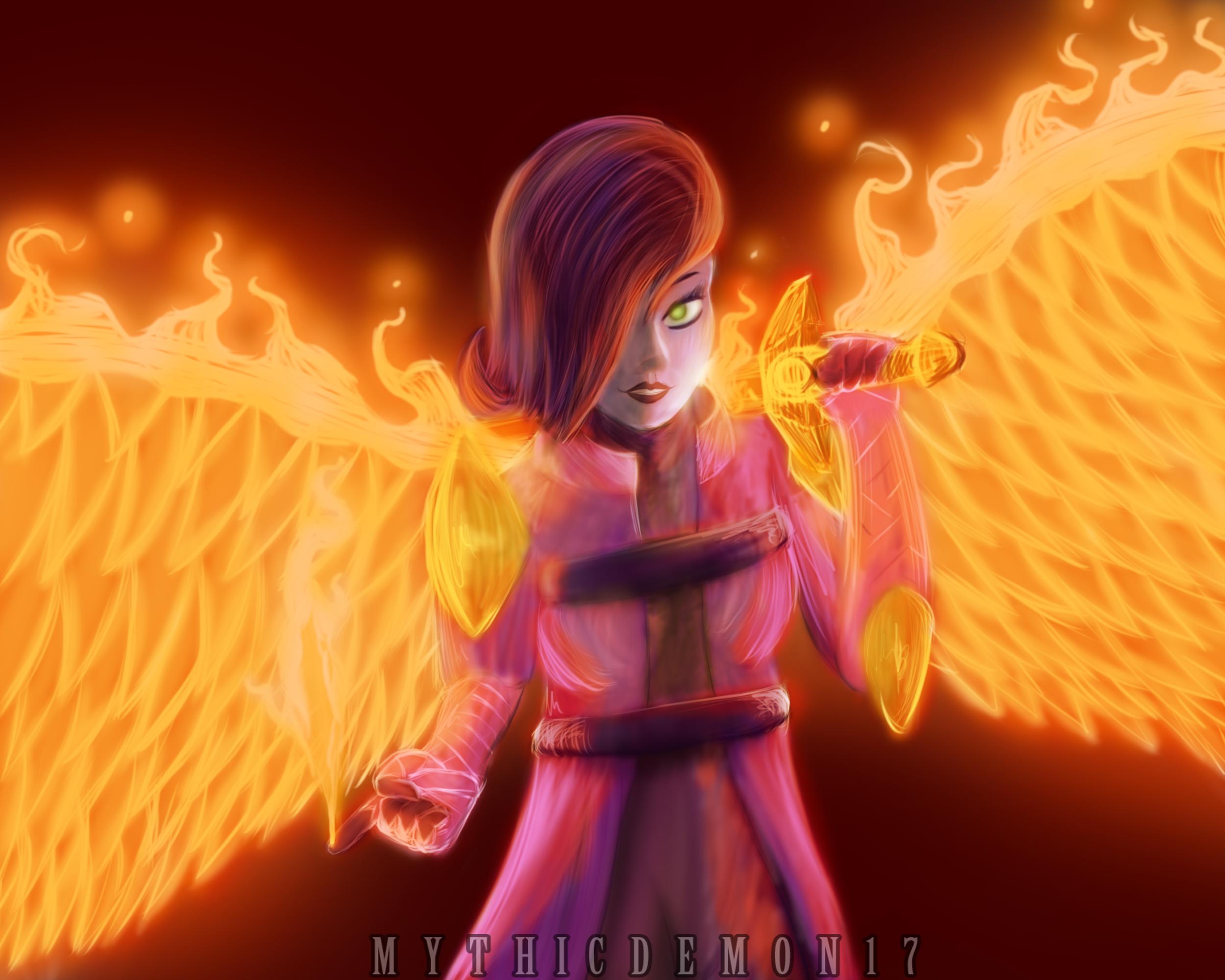 Alessa Dawnblade Painting