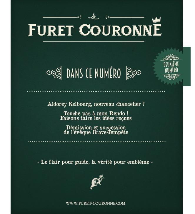 Livraison du Furet Couronné ! Pub2