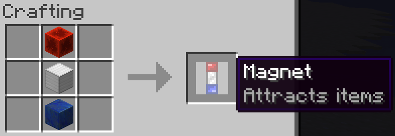 The recipe for the Magnet.