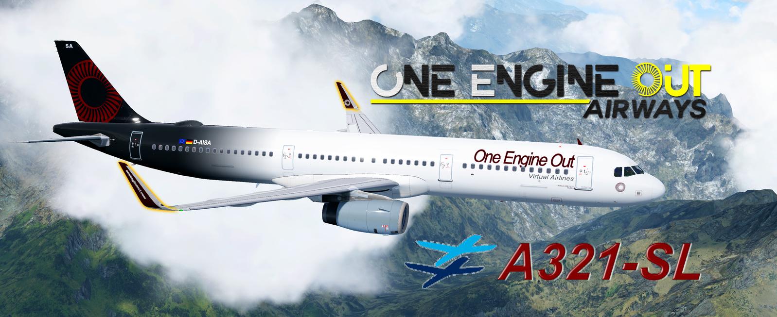 FSLabs A321-SL OEO Livery Pack (CFM & IAE)