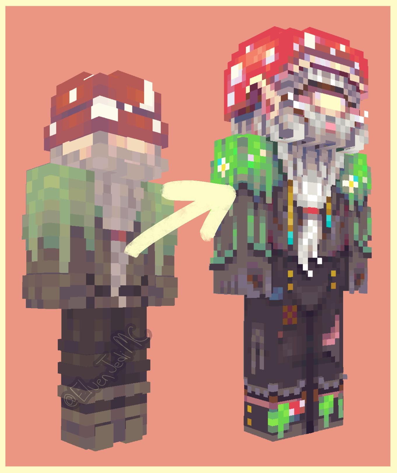 Gardener The Gnome // HD REMAKE Minecraft Skin