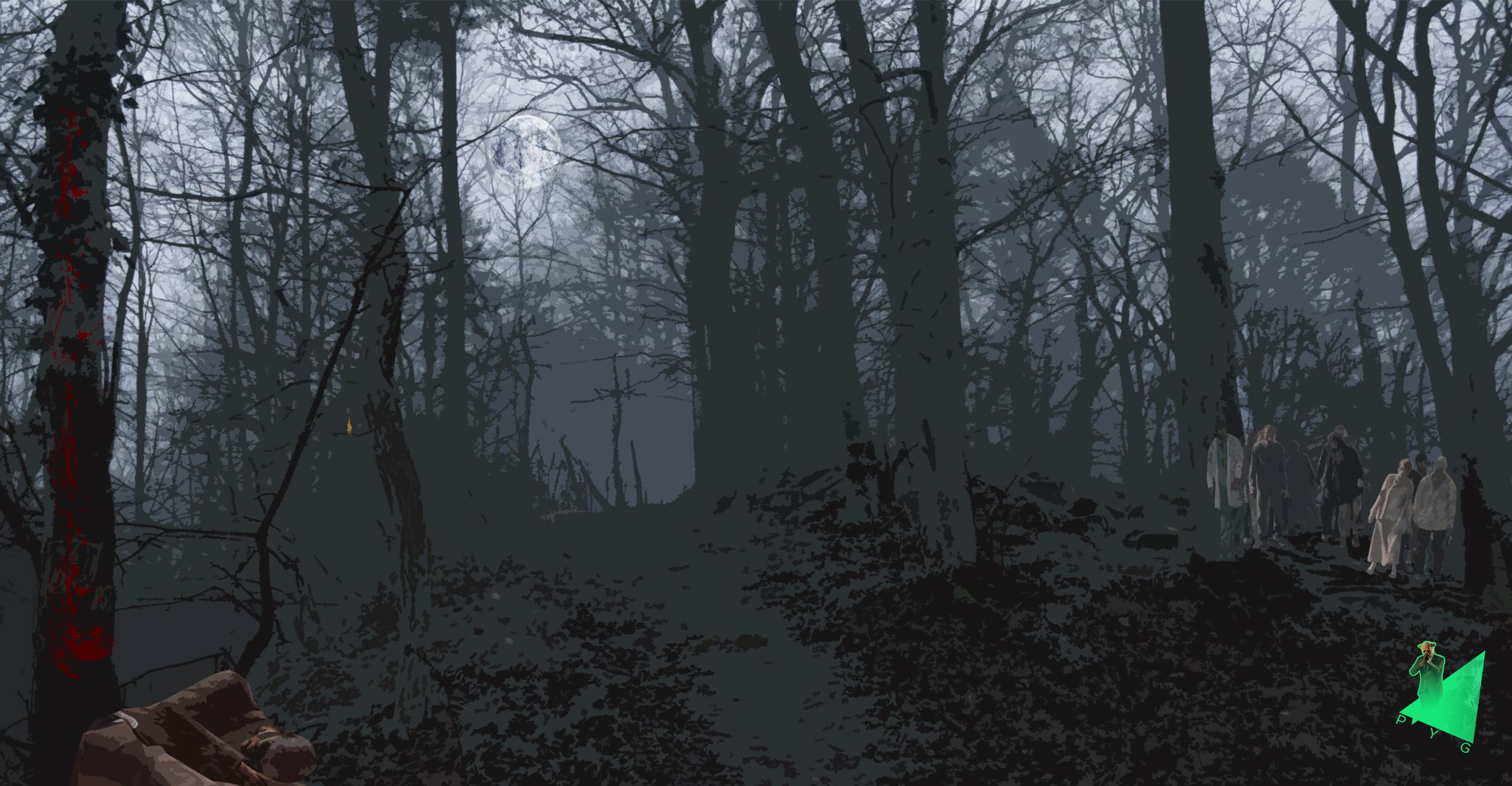 Le jeu des différences Dark-forest-differences