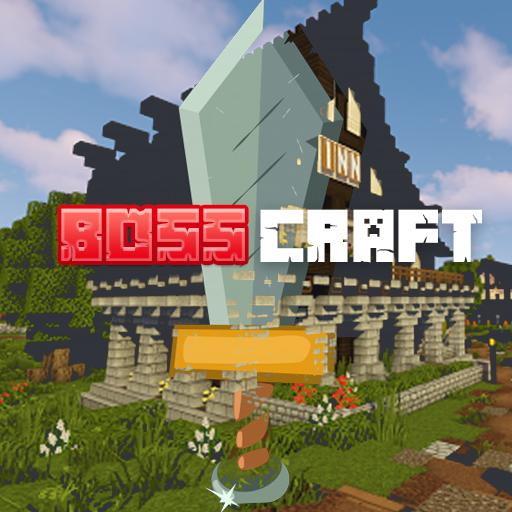 Logo Oficial del Server de Minecraft BossCraft.