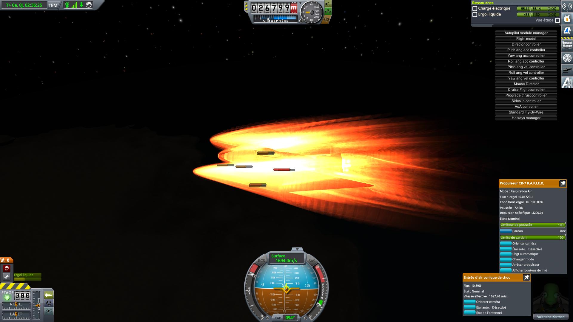 essai de vol hypersonique d'endurance