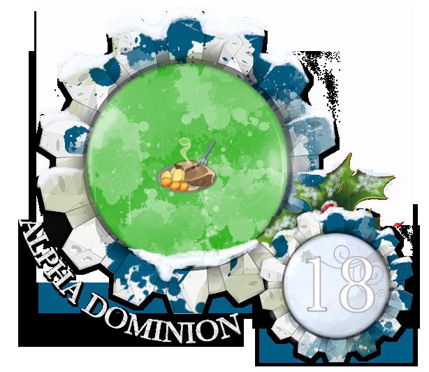 Calendrier de L'Avent Dominion - Edition 2017 Noel18