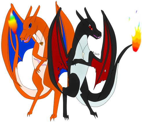 Gregory and Eris, the Charizard Siblings (inactive) Image0