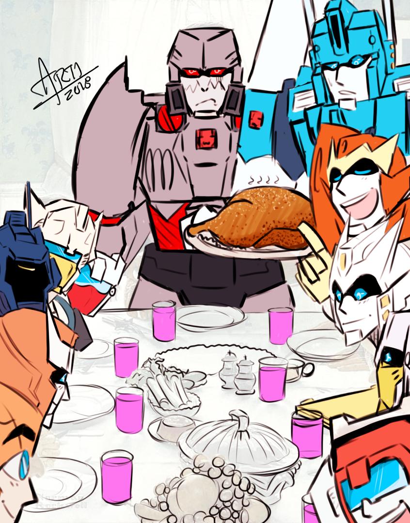 Transformers Thanksgiving Dinner