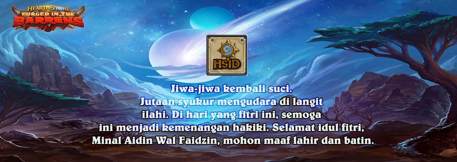Selamat Hari Raya Idul Fitri 1412 Hirjiah HSID