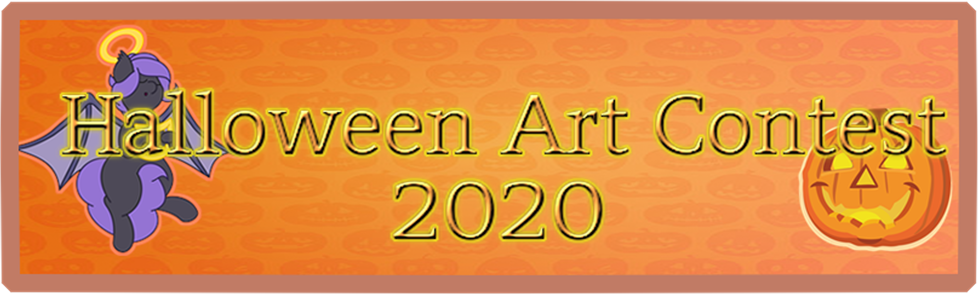 Nightmare Night 2020 Art contest badge
