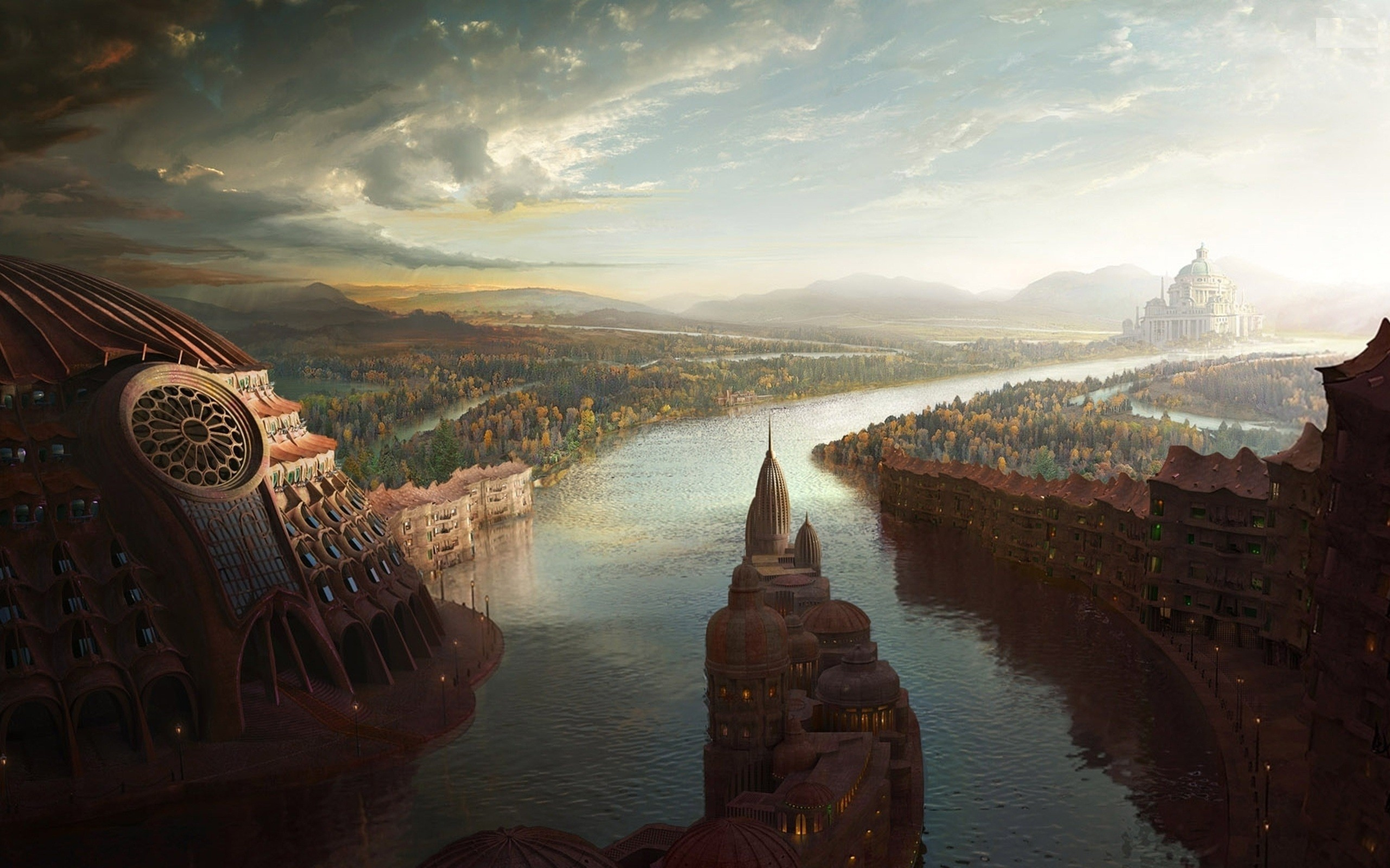 Continente: ETHELANDRA Abstract-cities-fantasy-art-2560x1600-wallpaper