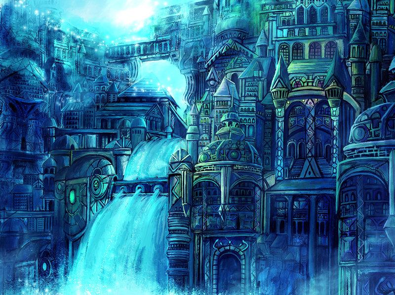 Daugran: Ciudades  y Paises Water_fantasy_city_by_gold_copper
