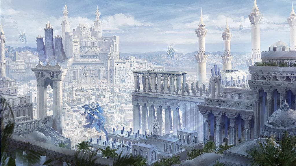 Continente: UGORA Qrath_empire_cityscape_fantasy_concept_art_by_damiankrzywonos-dba252w