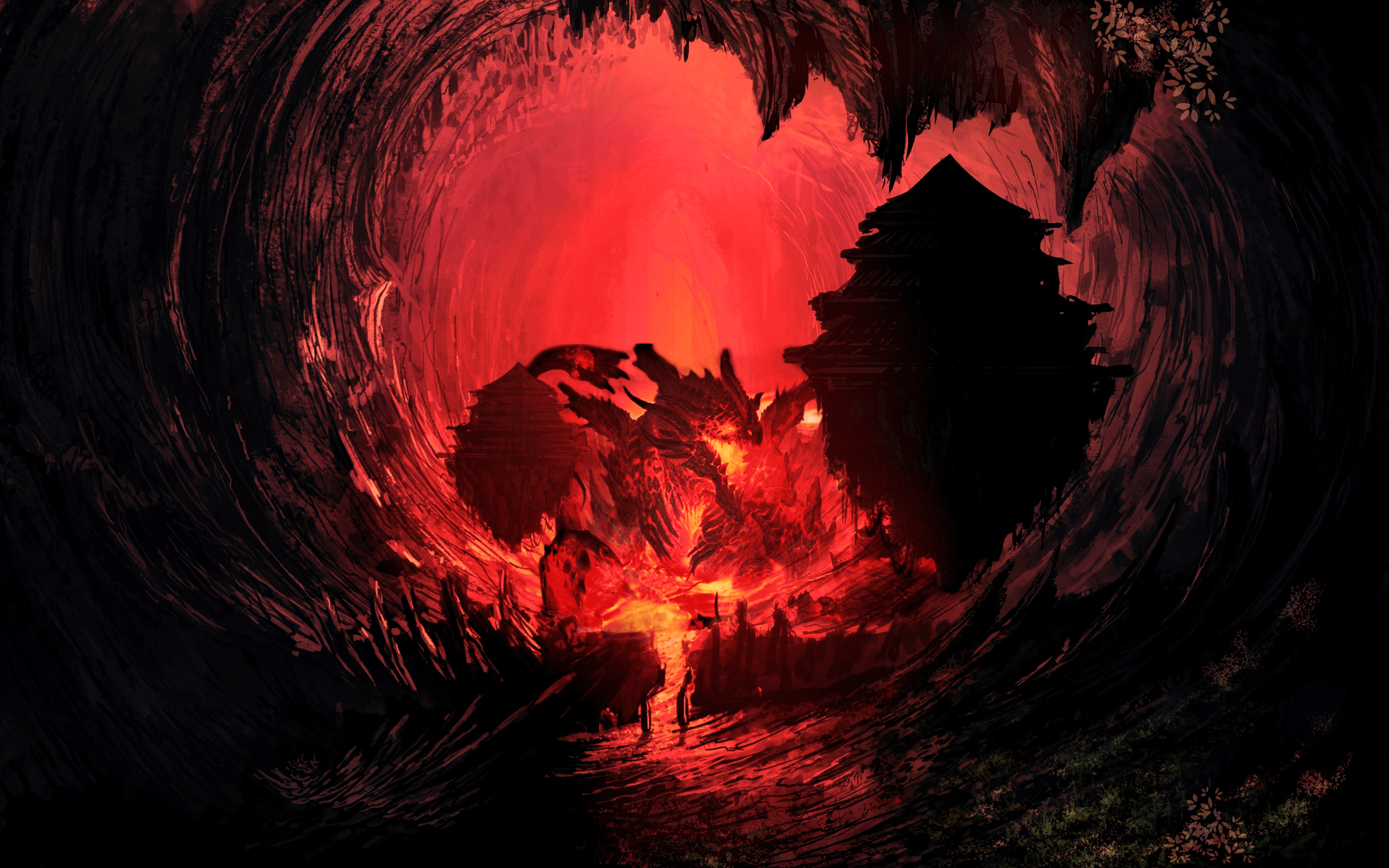 469872-airbrushed-artwork-cavern-concept-art-digital-art-fantasy-art-fire-floating-landscapes-painti.jpg