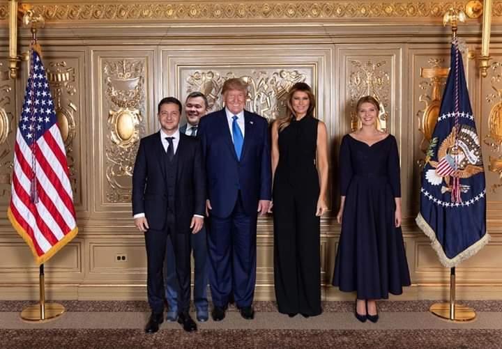 Зеленський з дружиною побували на офіційному прийомі у Трампа - Цензор.НЕТ 8071