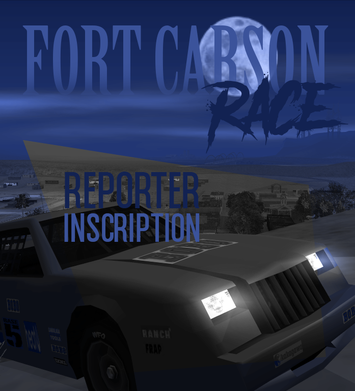 (EVENT) Fort Carson Race Reporter