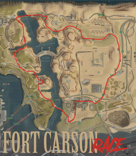 (EVENT) Fort Carson Race Circuit