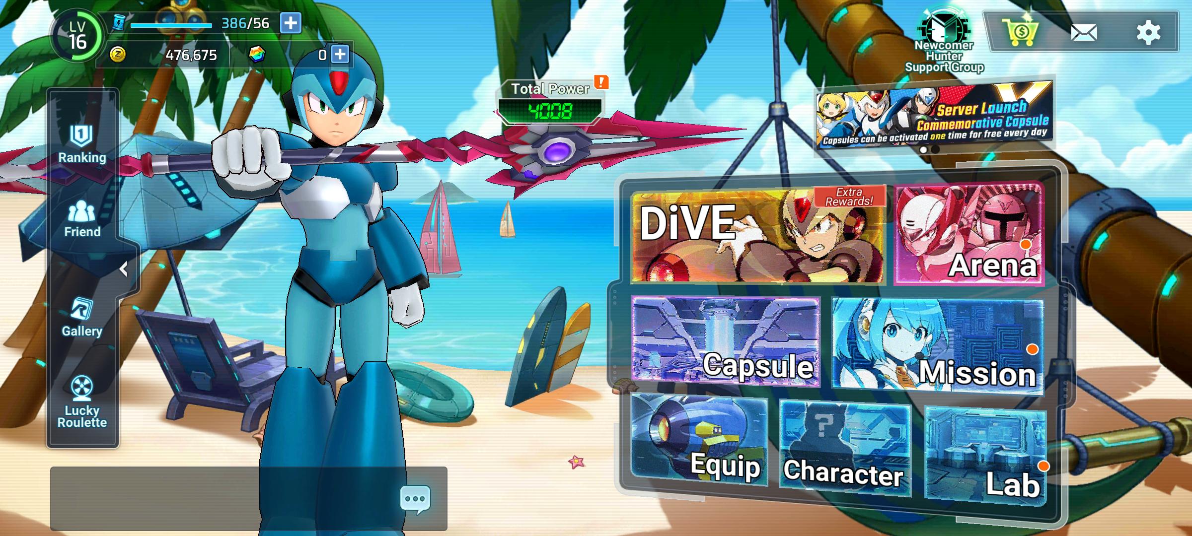 Screenshot 20210818 014755 MEGA MAN X DiVE MOBILE