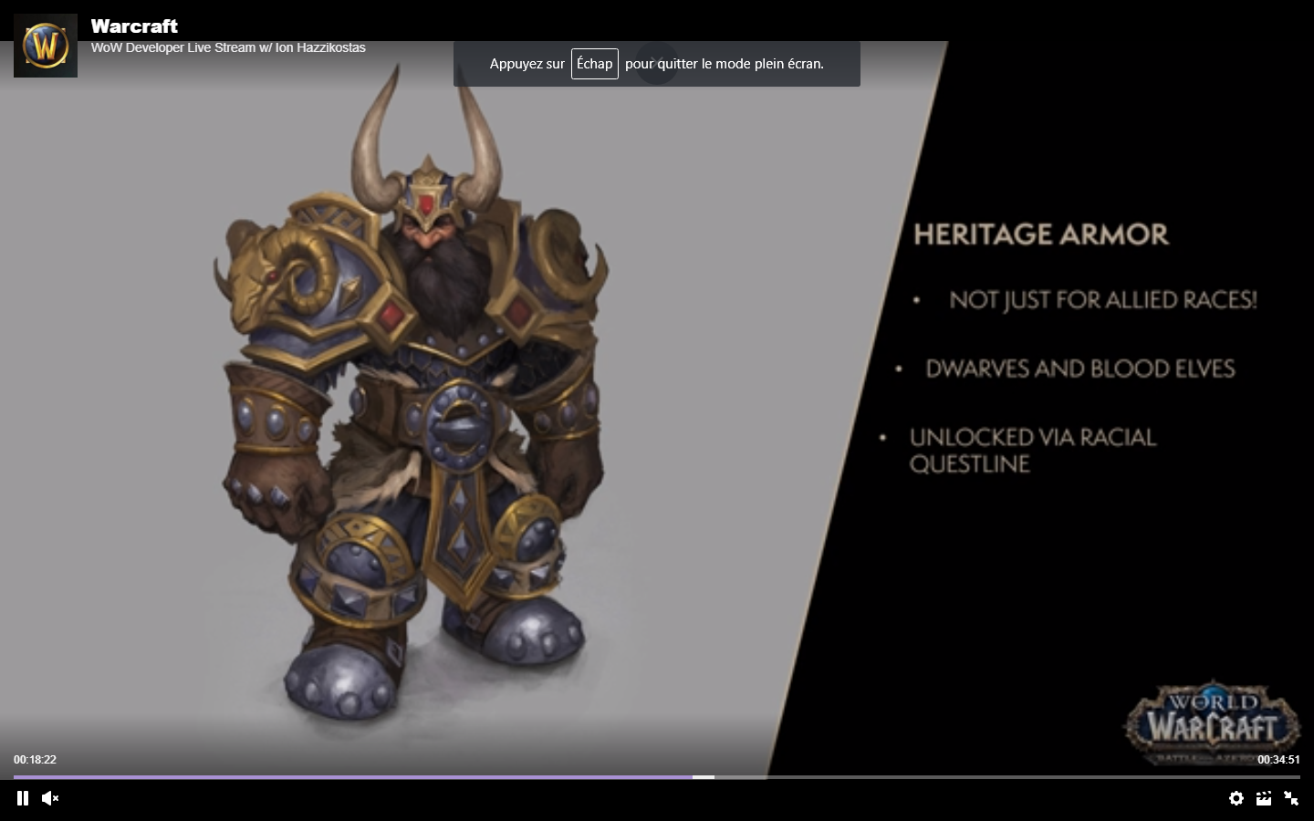 [Patch 8.1] Annonce ! Unknown